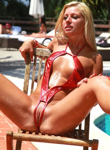 bikini-dare-candy-blond-wearing-crotchless-red-bikini
